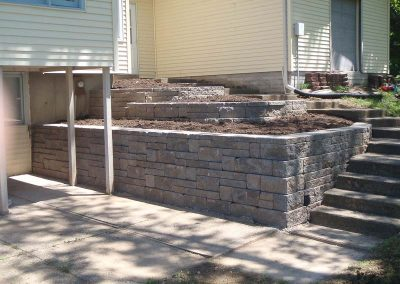 Retaining Walls created by Knob Hill Landscape